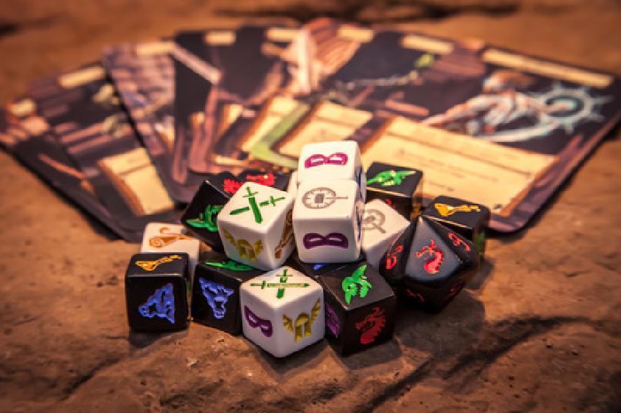 Dungeon Roll Vulcania Juegos De Mesa