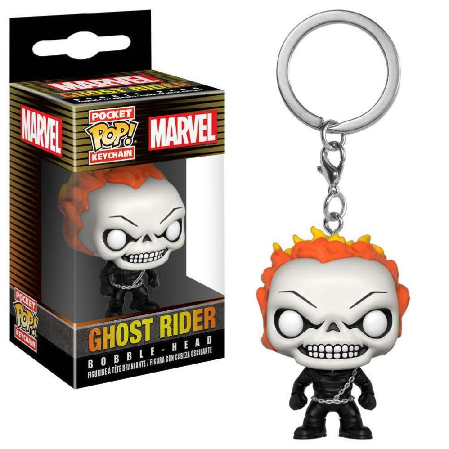 Ghost Rider Funko Pop! Keychain