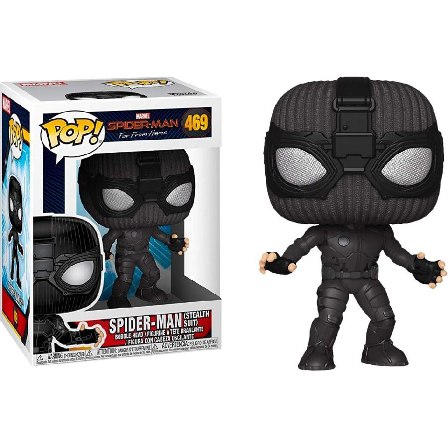 Spider-Man: (Stealth Suit) Funko Pop! (469)