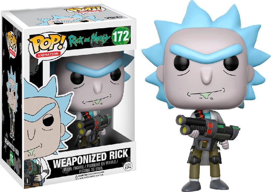 Weaponized Rick Funko Pop! (172)