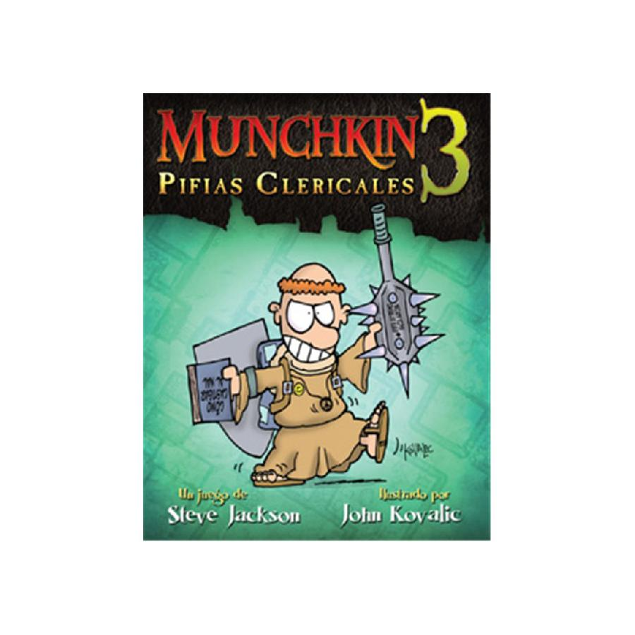 Munchkin 3: Pifias Clericales